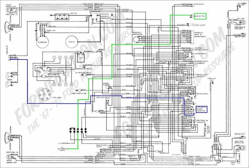 71 ford f100 wiring diagram 1951 8n wiring system diagram