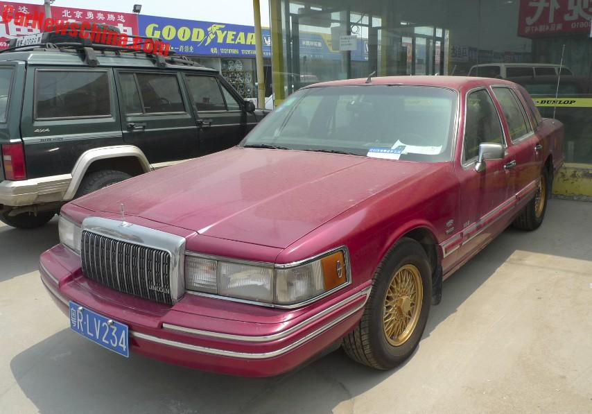 Groovy Spotted In China Lincoln Town Car Executive Series In Red Wiring Cloud Mousmenurrecoveryedborg