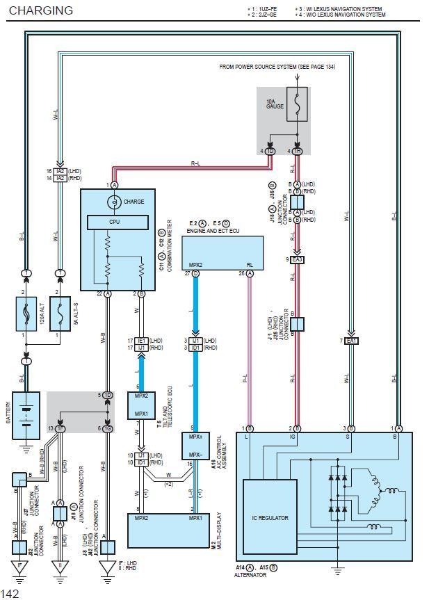 Lexus 1uz Vvti Alternator Wiring Diagram