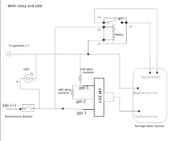 wiring diagram for lift master safety sensors  92 gmc