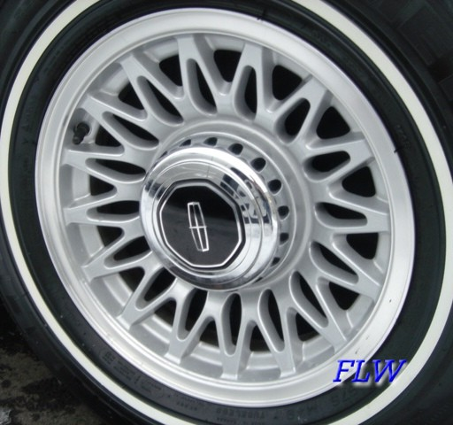 Tremendous 1995 Lincoln Town Car Oem Factory Wheels And Rims Wiring Cloud Dulfrecoveryedborg