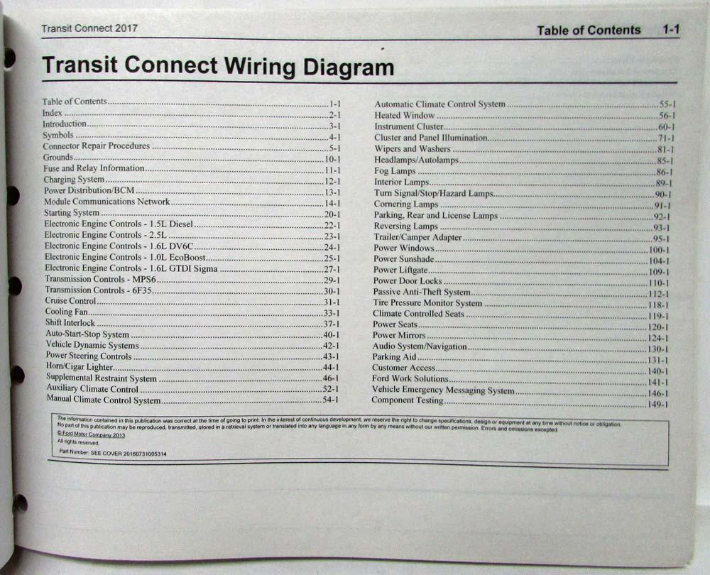 ford transit connect trailer wiring diagram le 6063  ford transit connect wiring diagram download diagram  ford transit connect wiring diagram