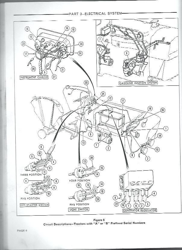 Wiring Diagram Ford 6610