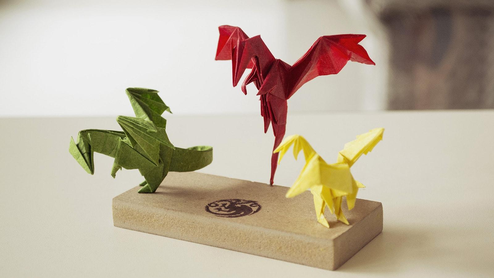 Origami Pterodactyl EASY origami dinosaur - Yakomoga Origami easy ... | 900x1600