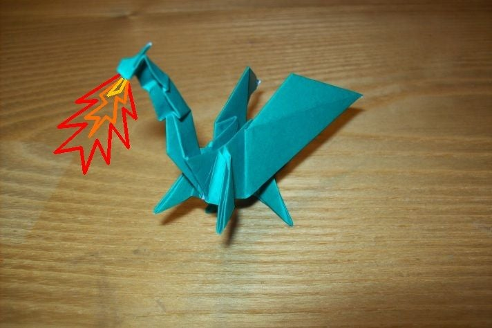 Origami Dragons - Page 3 of 7 | Gilad's Origami Page | 474x712