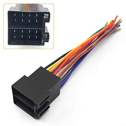 Surprising Amazon Com Etbotu Universal Male Iso Radio Wire Wiring Harness Wiring Cloud Gufailluminateatxorg