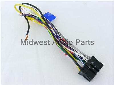 DZ_7725] Details About Pioneer Wire Wiring Harness Deh 1400 2400F P7400Mp  Pr1