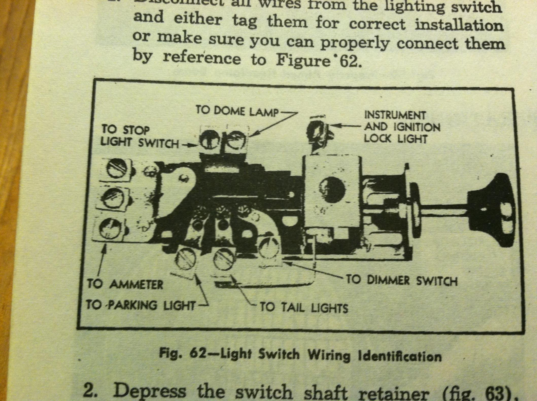 1950 Ford Light Switch Diagram - Wiring Diagrams SchematicAsnières Espaces Verts