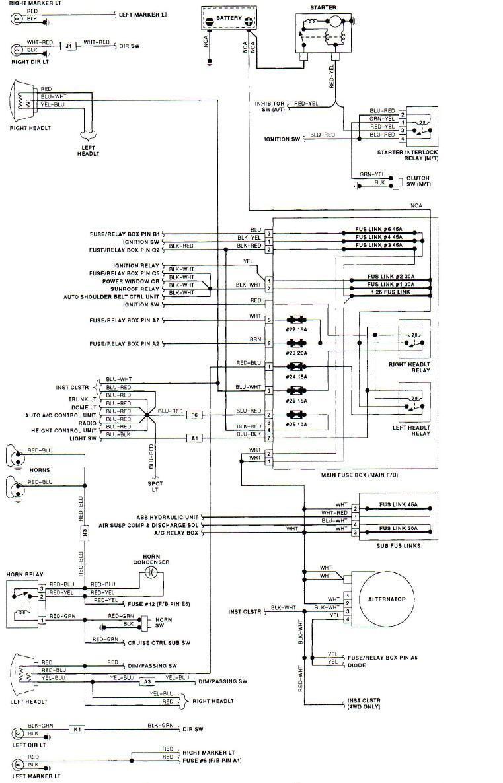 DB_2511] 95 Subaru Legacy Headlight Wiring Layout Wiring DiagramIlari Benkeme Mohammedshrine Librar Wiring 101