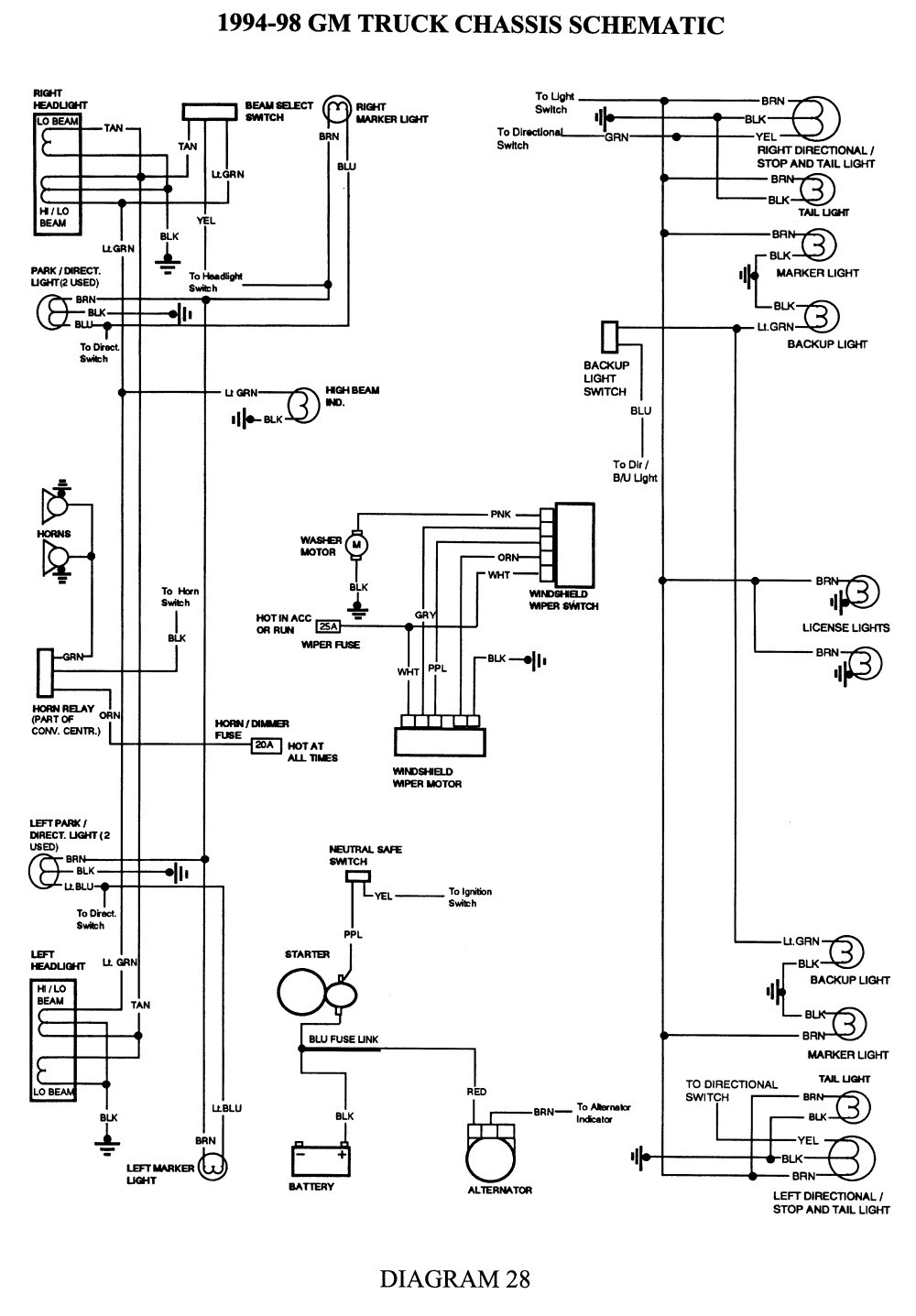 Gm 7 Way Wiring Diagram 2006 Data Wiring Diagram