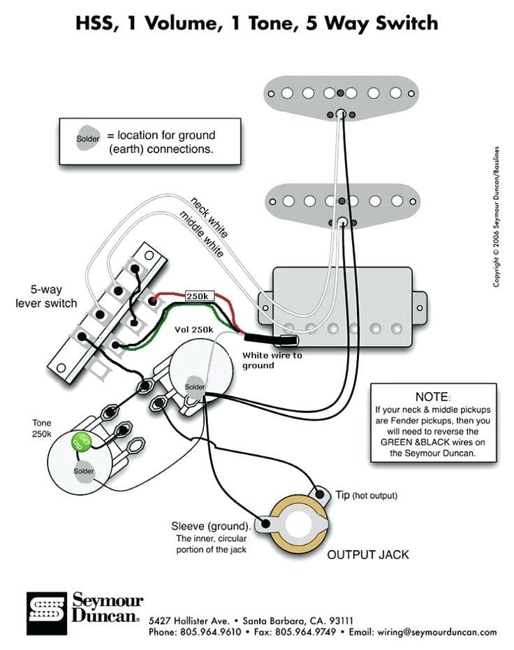 Seymour Duncan Hss Strat Wiring Diagram