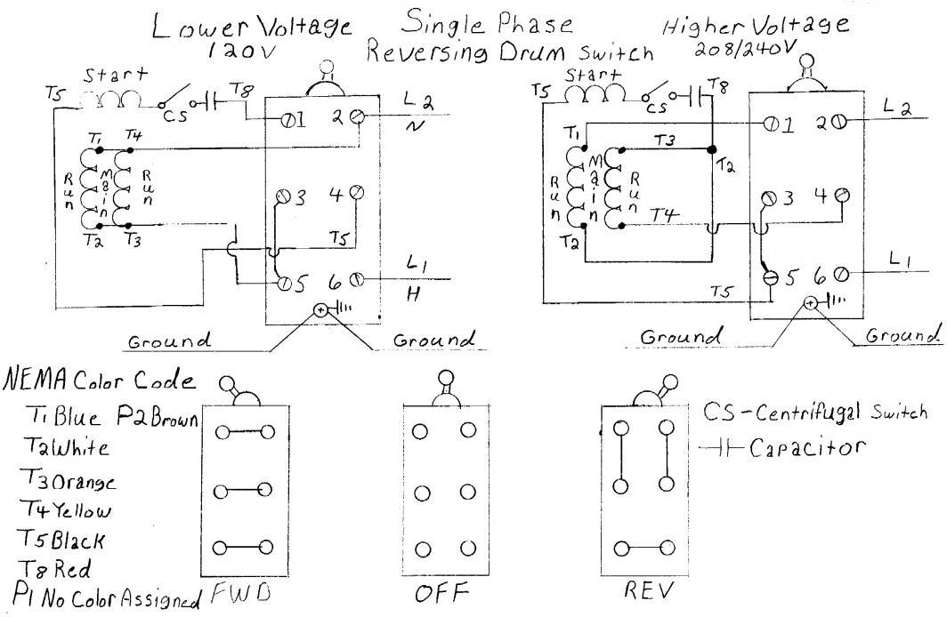 [ZSVE_7041]  AG_7801] Diagram Single Phase Motor Correct Wiring For 3 Wire Single Phase Schematic  Wiring | 208 Volt Motor Capacitor Wiring Diagram |  | Skat Ultr Mohammedshrine Librar Wiring 101