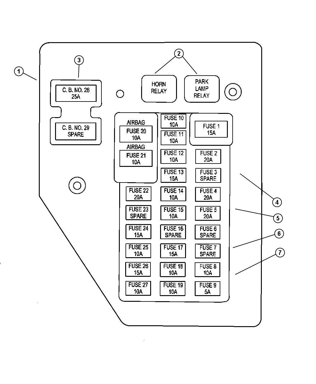 Fine 95 Dodge Dakota Fuse Diagram Basic Electronics Wiring Diagram Wiring Cloud Overrenstrafr09Org