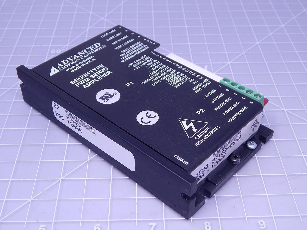 Swell Advanced Motion Controls X08 12A8K Brush Type Pwm Servo Amplifier Wiring Cloud Inklaidewilluminateatxorg