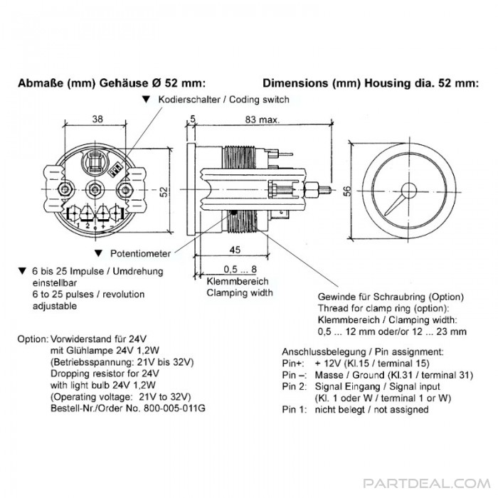 Vw Vdo Tach Wiring Diagram Wiring Diagrams Collection Collection Chatteriedelavalleedufelin Fr