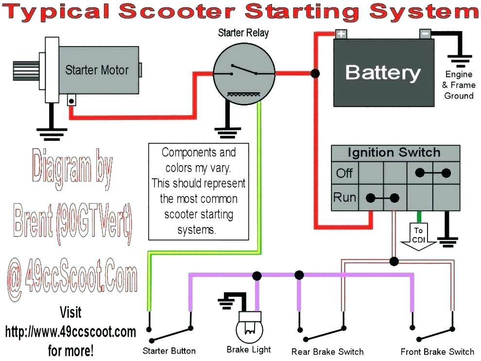 moped ignition switch wiring diagram  center wiring diagram