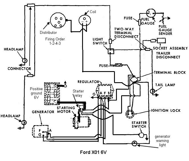 Db 0312  Ford Tractor 6610 Alternator Wiring Diagram