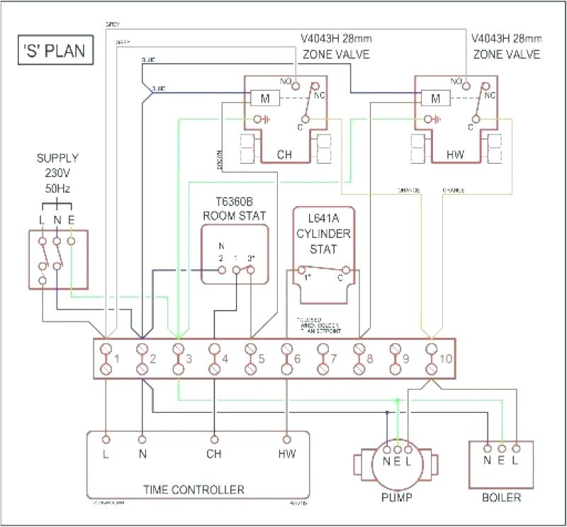 Central Heating S Plan Wiring Diagram