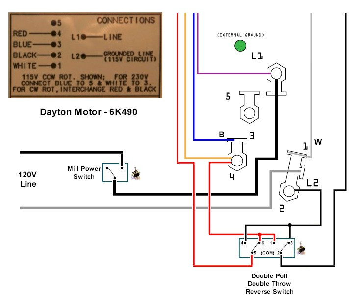 cy9900 dayton 115v wiring diagram get free image about
