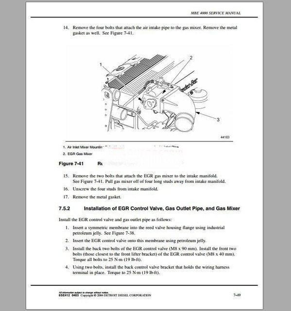 Mercedes Mbe 4000 Wiring Diagram