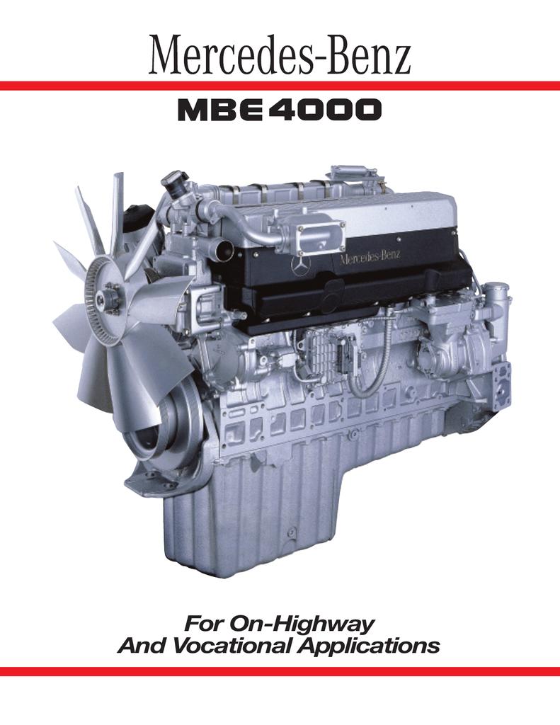 [SR_5610] Mbe 4000 Sensor Diagram Schematic Wiring
