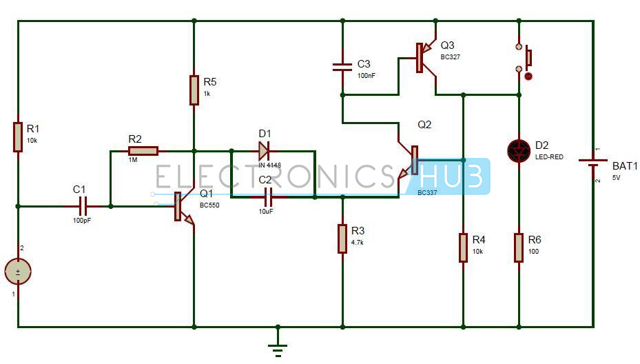Superb Puff To Off Led Lights Circuit Working And Applications Wiring Cloud Timewinrebemohammedshrineorg