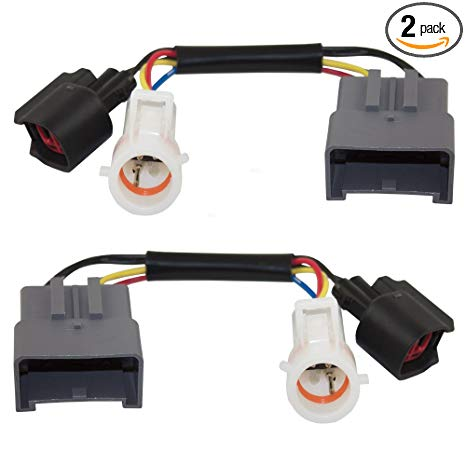Incredible Amazon Com Set Tow Mirror Upgrade Adapters Harness Connectors W Wiring Cloud Ostrrenstrafr09Org