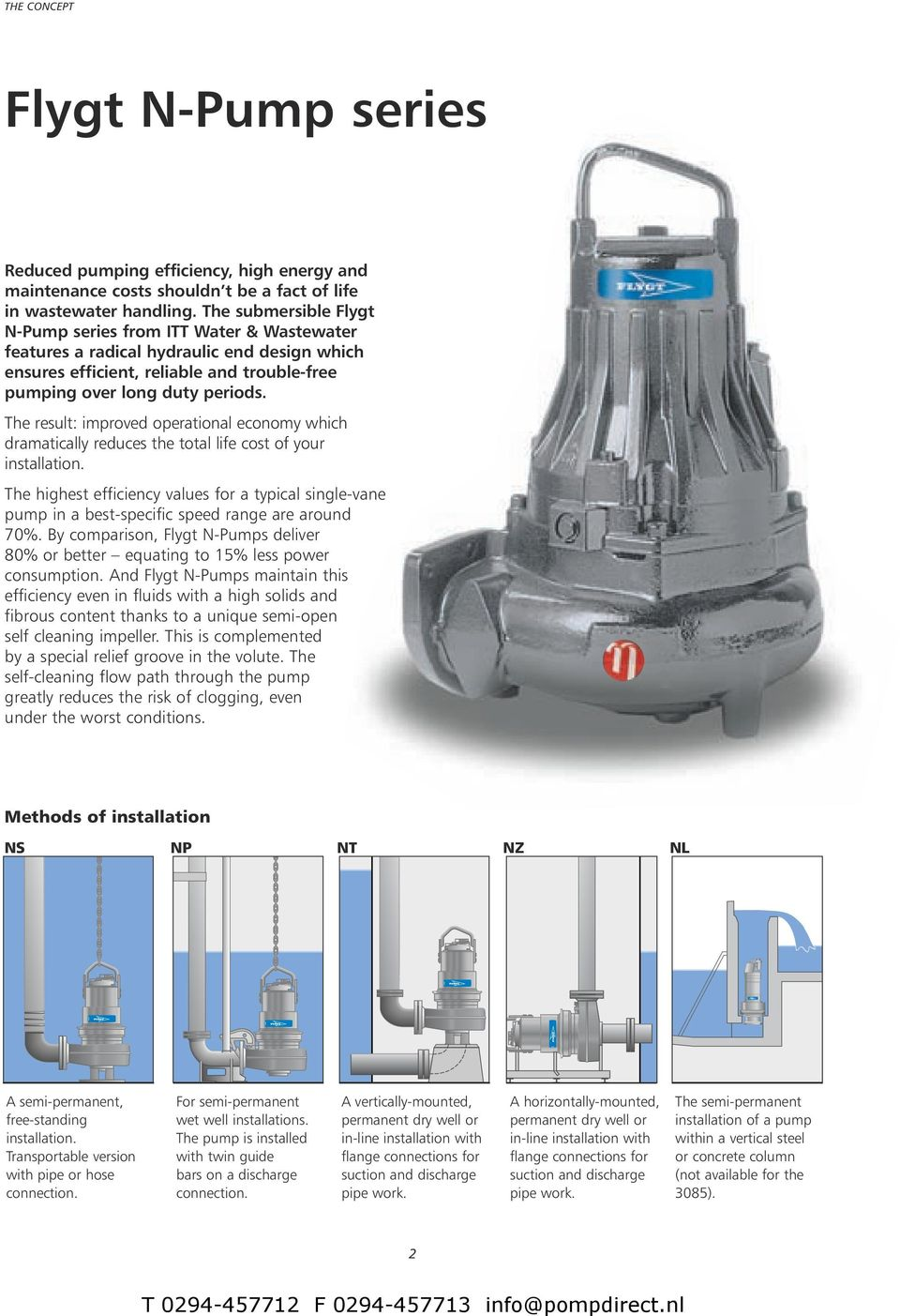 Surprising Flygt N Pumps 3085 3102 For Reliable And Efficient Wastewater Wiring Cloud Hemtshollocom