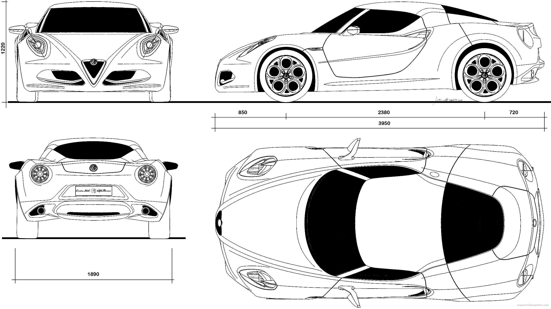 Tremendous Alfa Romeo 4C Auto Electrical Wiring Diagram Wiring Cloud Cranvenetmohammedshrineorg