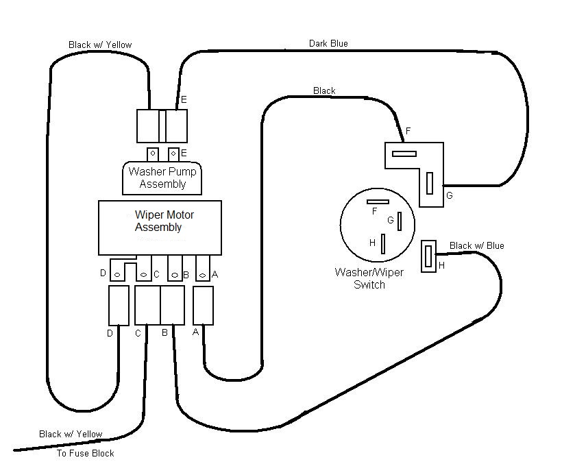 Tremendous Windshield Wiper Switch Wiring Diagram Basic Electronics Wiring Wiring Cloud Uslyletkolfr09Org