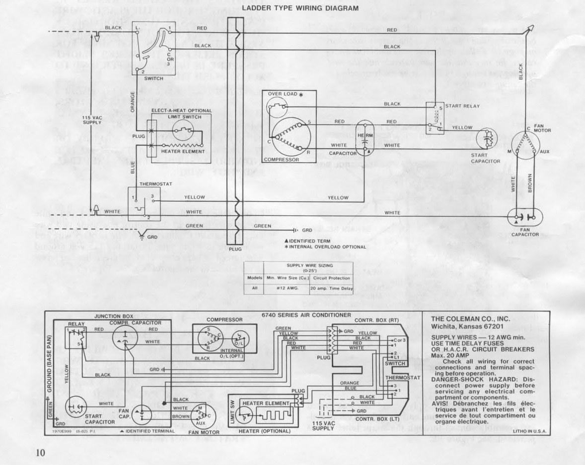 Awe Inspiring Diagram Coleman Ac Unit Wiring Diagram Air Conditioning Units Wiring Wiring Cloud Waroletkolfr09Org