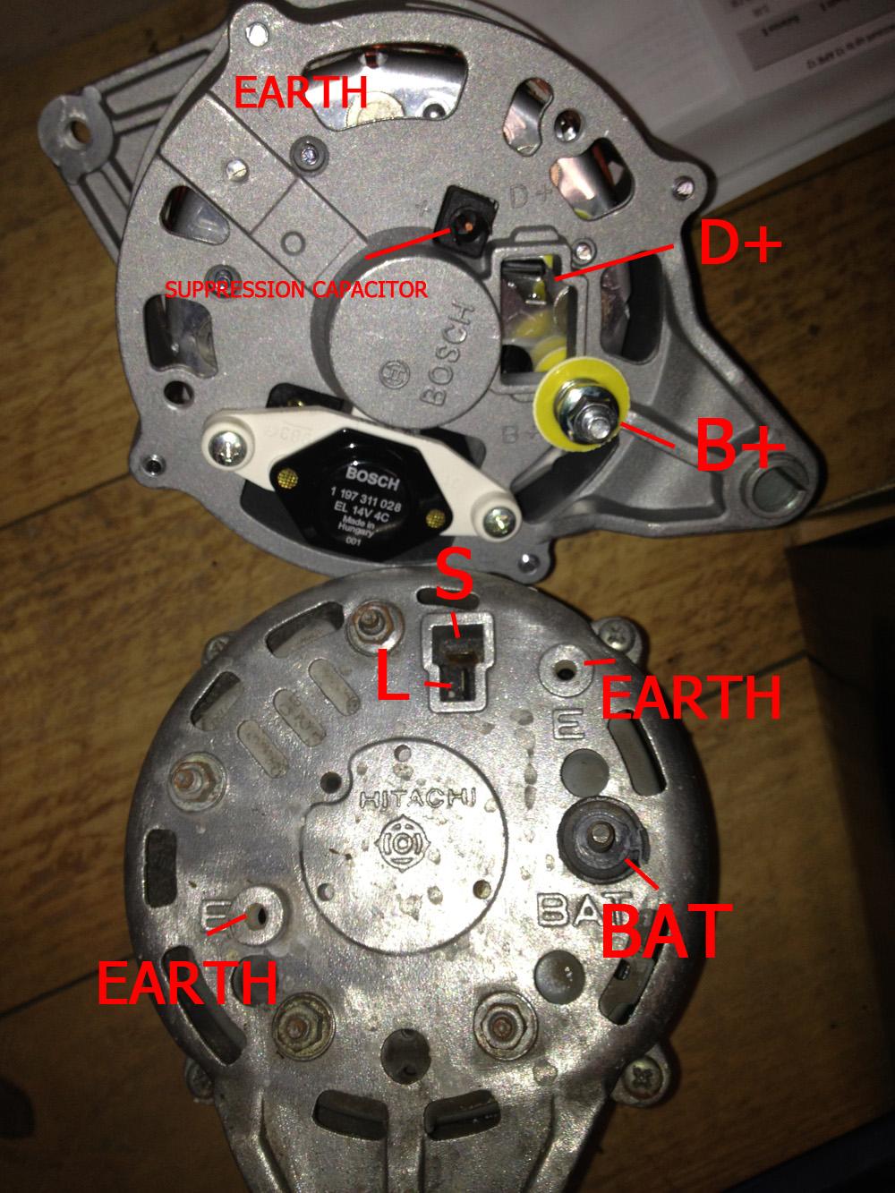 Bosch 24 Volt Alternator Wiring Diagram