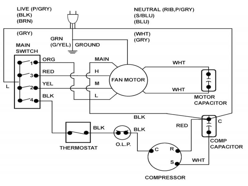 window unit air conditioner wiring diagram pt cruiser