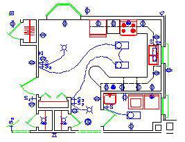 Cool 2D Electrical Plan Wiring Diagram Wiring Cloud Onicaxeromohammedshrineorg
