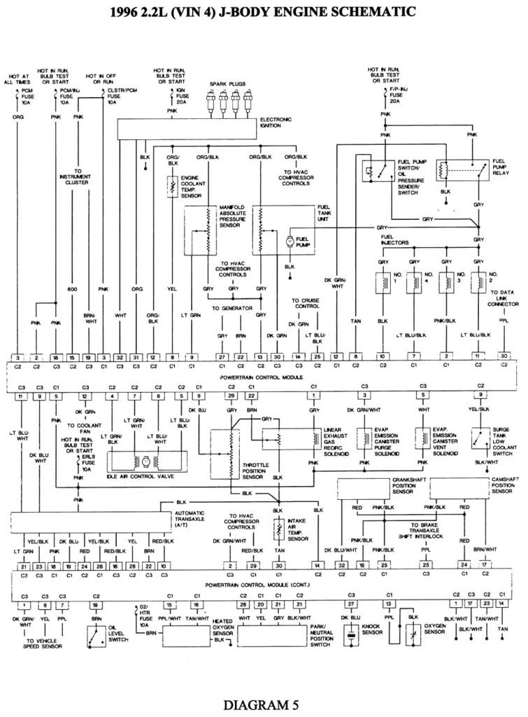 1996 chevy cavalier wiring diagram  description wiring