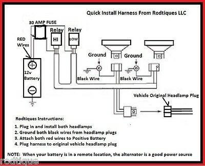 H4 Wiring Diagram
