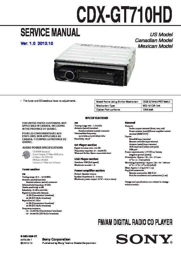 xe8825 sony cdx gt660up wiring diagram download diagram