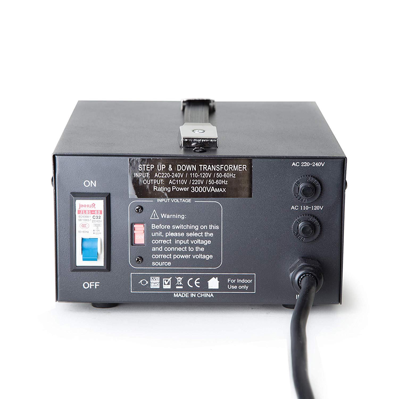 Brilliant Amazon Com Elc T 3000 3000 Watt Voltage Converter Transformer Wiring Cloud Monangrecoveryedborg