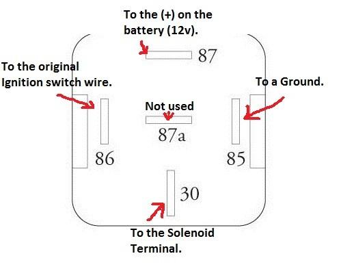 Xb 1359 12v 30 Amp Relay Wiring Diagram 30 Amp Bosch Relay Wiring Diagram We Download Diagram