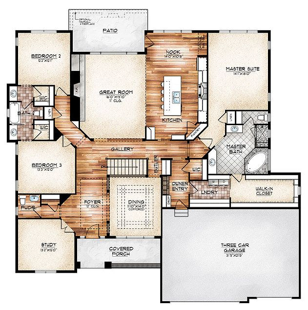 Fd 7075 House Plans On Pinterest Floor Plans House On Wiring New House Home Download Diagram
