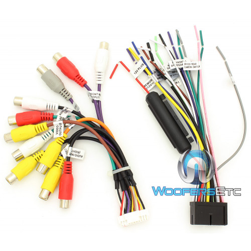 Wire Diagram For Power Acoustik Wiring Diagram