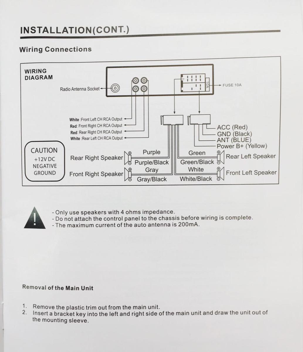 Power Acoustik Dvd Wiring Diagram