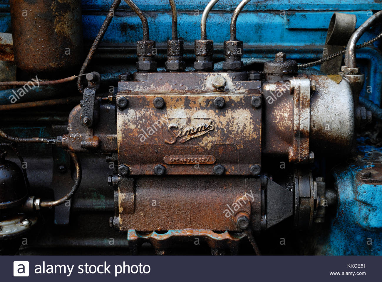 HYDRAULIC PUMP REMOVED FROM FORDSON MAJOR
