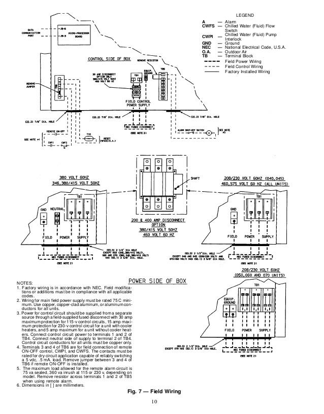 30xa Carrier Chiller Wiring Diagram