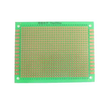 Phenomenal Uxcell 90X70Mm Copper Prototyping Pcb Circuit Board Stripboard Wiring Cloud Rdonaheevemohammedshrineorg