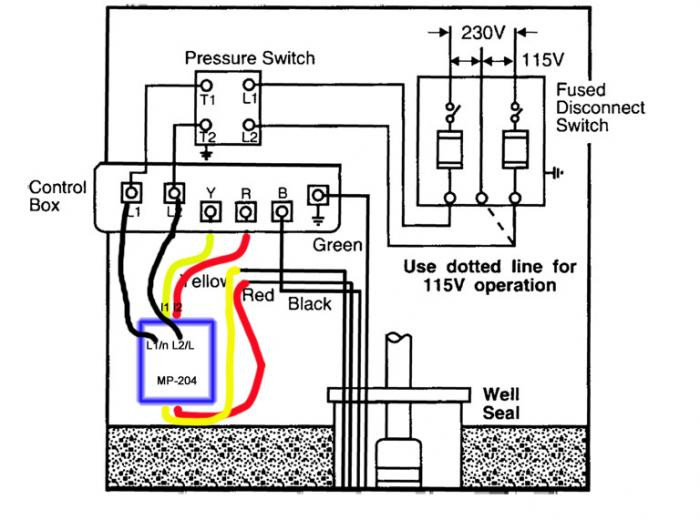 Grundfos Well Pump Wiring Diagram