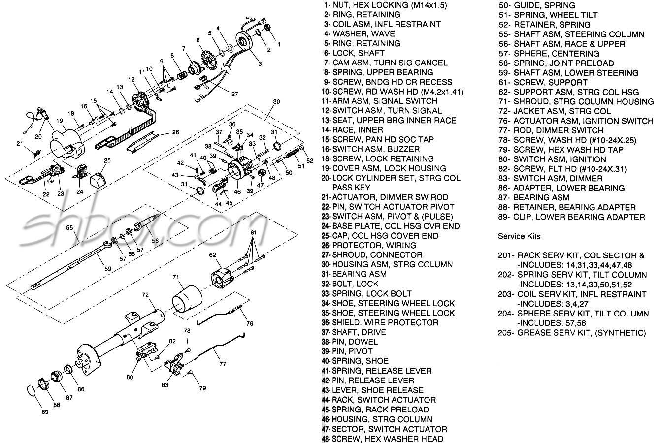 Bz 2141  Corvette Steering Column Diagram On Rear Chevy Truck Steering Wheel Schematic Wiring