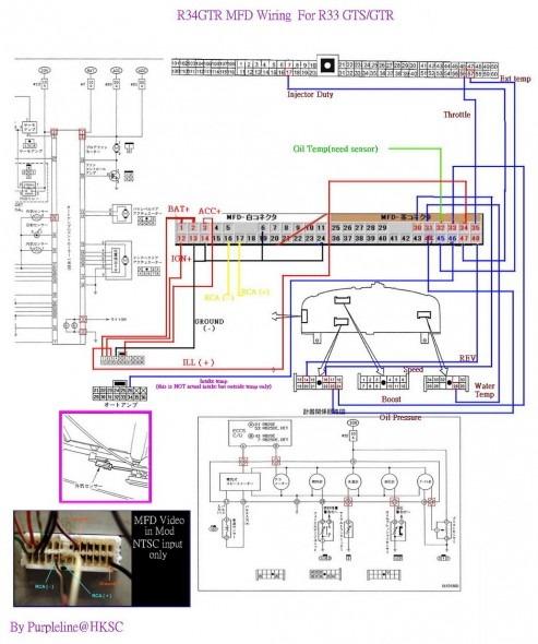 R33 Auto Wiring Diagram Mixer