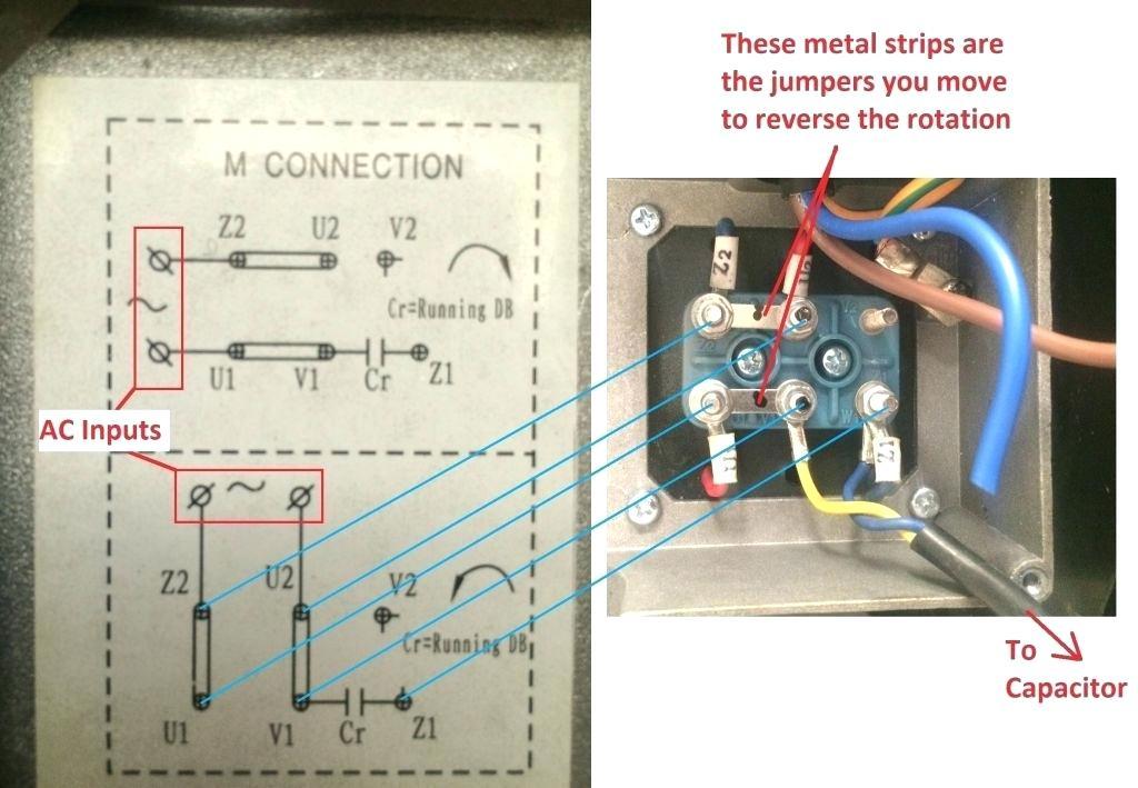 single phase capacitor motor wiring  wiring diagram triumph
