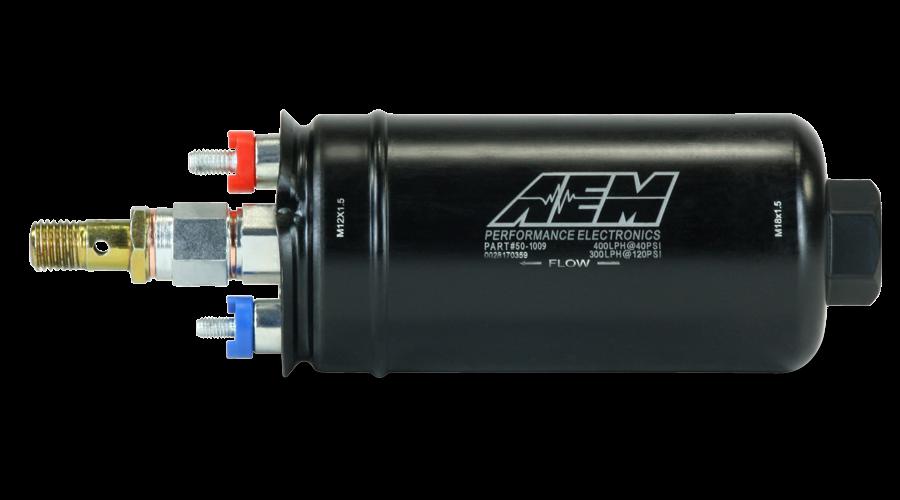 Groovy 400Lph Metric Inline High Flow Fuel Pump Aem Wiring Cloud Staixaidewilluminateatxorg